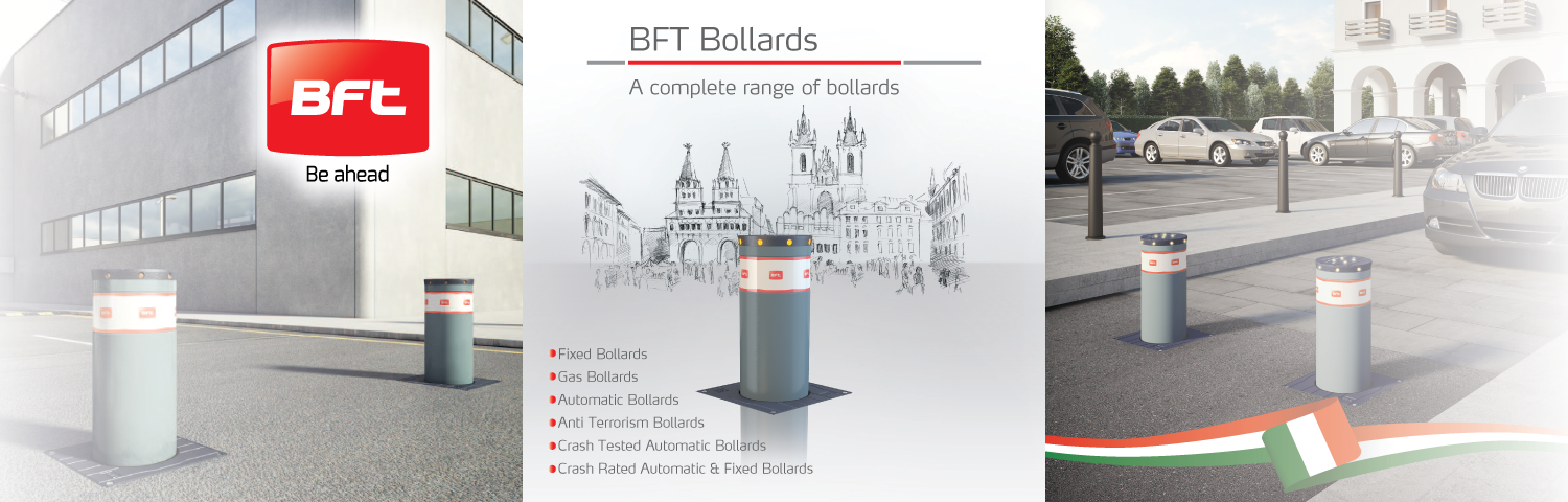 BFT Anti Terrorism Bollards