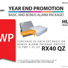 Year End Sale Alarm Package